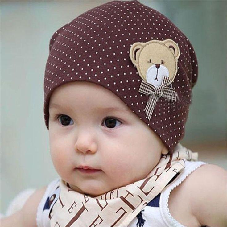 $1.19 (Buy here: https://alitems.com/g/1e8d114494ebda23ff8b16525dc3e8/?i=5&ulp=https%3A%2F%2Fwww.aliexpress.com%2Fitem%2FBaby-Hat-Lovely-Bear-Cotton-Toddler-Cap-Dot-2016-Kids-Dots-Beanies-Children-Infant-Costume-Spring%2F32612993992.html ) Baby Hat Casual Dot Baby Beanie Bear Cartoon Infant Girls Boys Cap Kids Costume 2016 Autumn Winter Cute Baby Hats Accessories for just $1.19
