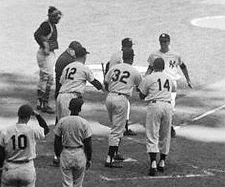 1960 World Series (Game 3) (10-8-60). Bobby Richardson grand slam.