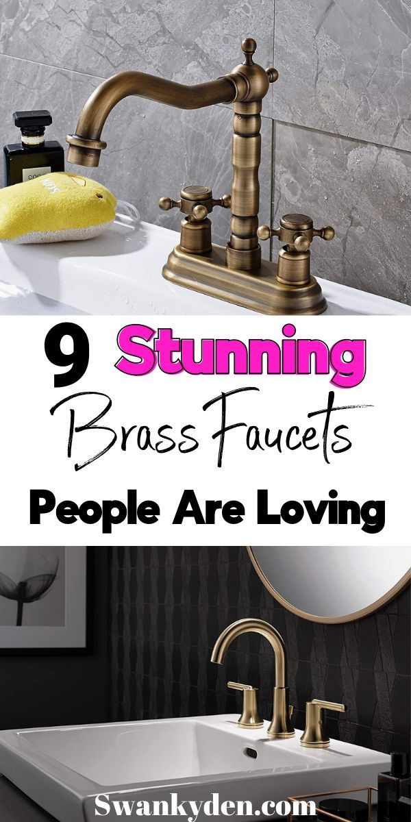 Brass Bathroom Faucets That People Are Addicted To Swankyden Com In 2020 Brass Bathroom Brass Bathroom Faucets Bathroom Faucets