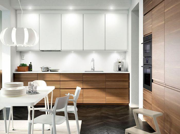 Idee Decoration Et Relooking Cuisine Tendance Image Description Modele De Cuisine Blanch Kitchen Cabinet Design Kitchen Furnishings Simple Kitchen Cabinets