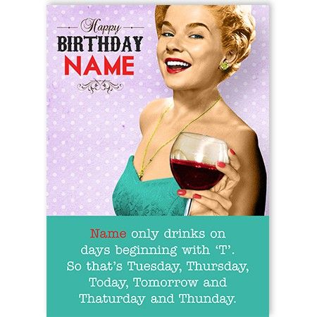 Funny birthday greeting card, easily personalised with a photo upload and a message, for Her and Him!!! http://www.quickclickcards.com/humour-spoof/