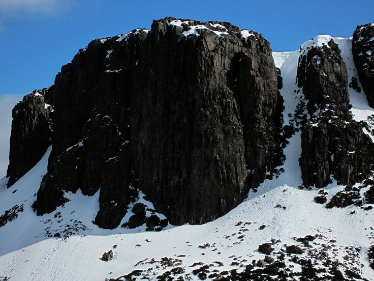 Walls of Jerusalem - yes I climbed that snow/ice/waterfall track!
