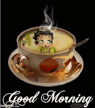 Buenos días y al rico café