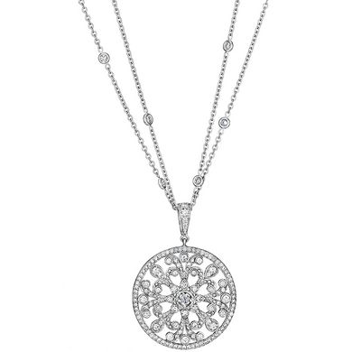 Penny Preville Marquise Shape Flower Diamond Signature Chain