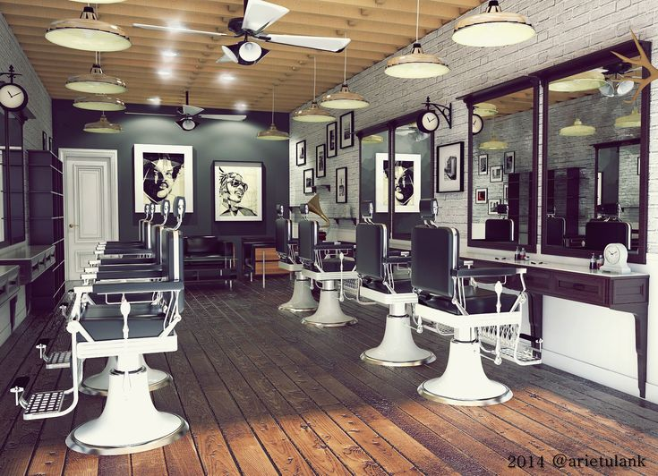 Young Barbershop, Industrial Vintage Indonesia, Jakarta