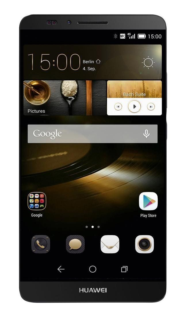 HUAWEI Acend Mate 7 MT7-L09 16GB Unlocked GSM 4G LTE Quad-Core Smartphone w/ 13MP Camera - Black