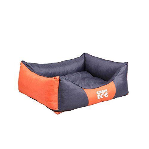 Aus der Kategorie Betten  gibt es, zum Preis von EUR 44,99  <p><b>Hundebett Kwadrat</b></p> Verwöhnen Sie Ihren besten Freund mit einem komfortabel gepolsterten rechteckigen Schlafplätzchen und er wird sich bei Ihnen puddelwohl fühlen. Der Hundeliegeplatz bewirkt dank seiner geriffelten Polsterung ein wohliges warmes Gefühl und bettet Ihren Vierbeiner in die schönsten Träume.  <p><b>Alle Vorzüge auf einen Blick:</b></p>  <p><b>Material:</b></p> Bezug aus 100% Polyester  <br /> Füllung aus…