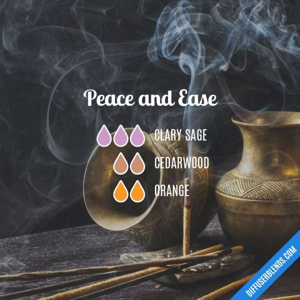Peace and Ease - Essential Oil Diffuser Blend clary sage