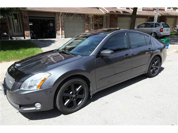 """Car - 2005 Nissan Maxima Se In CONCORD, ON $7,000"""