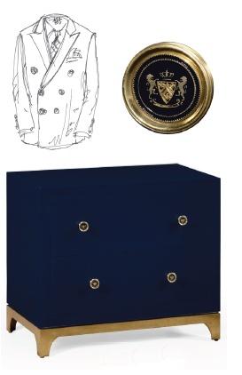 Alexander Julian Designed This Blazer Dresser For Jonathan Charles