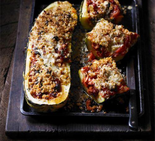 Spanish stuffed marrow (253 cals) from BBC Good Food