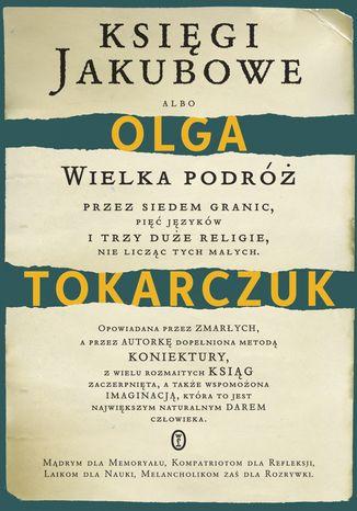 "9.02 Olga Tokarczuk ""Księgi Jakubowe"" #2"