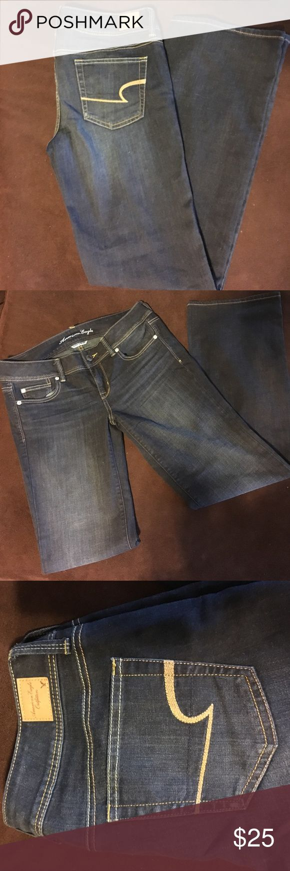 🌟SUNDAY SALE🌟 NWOT American Eagle Slim Boot Cut NWOT - American Eagle Slim Boot Cut w/Stretch. Size 10 Regular. Excellent Condition! American Eagle Outfitters Jeans Boot Cut