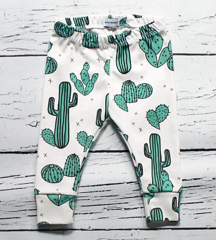 Cactus Baby Leggings | As comfy as they are adorable, these printed baby leggings fea... | Baby & Toddler Bottoms