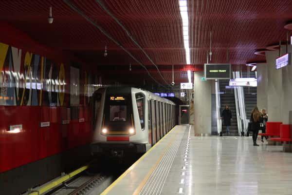 Warsaw underground METRO