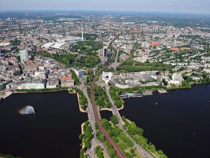 Luftbilder: So schön ist Hamburg von oben