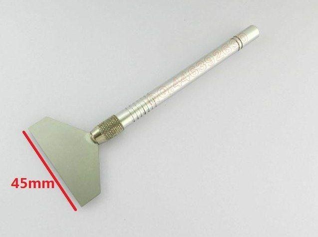 Free shopping 45mm BGA soldering paste scraper scraping Knives Tin
