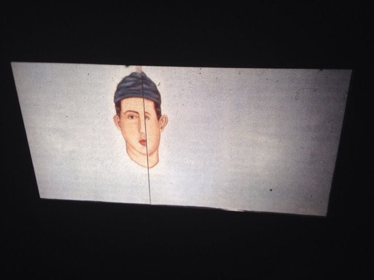 "Julio Galan ""I Did Well In Loving You"" Mexican Neo-expressionism 35mm Art Slide"