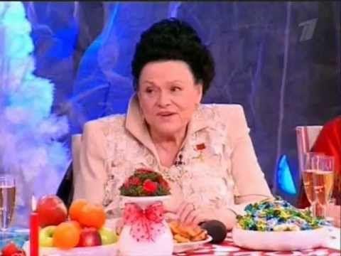 Людмила Зыкина - Оренбургский пуховый платок