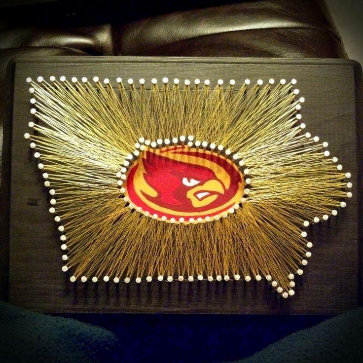 Iowa State University! Another state string art Etsy order complete!