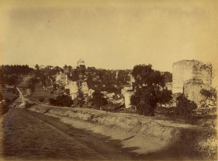 Edirnekapı ve Surlar / 1870s
