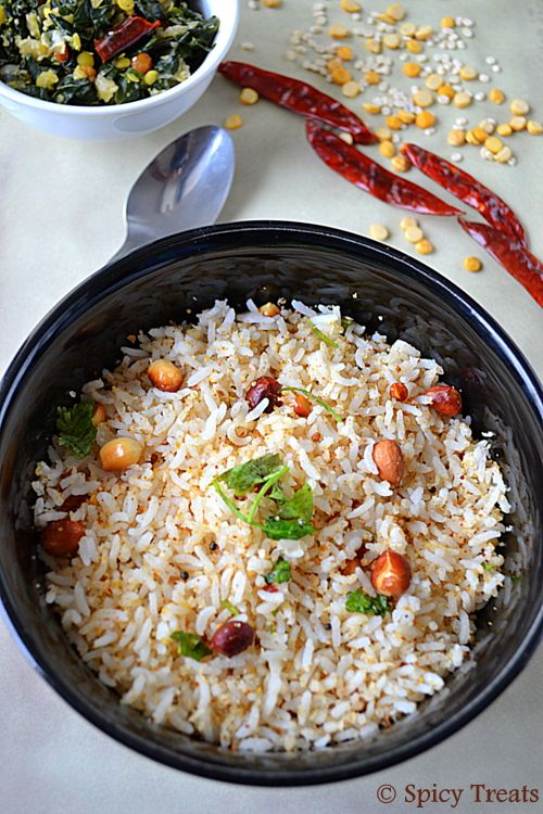 Spicy Treats: Coconut Rice ~ Easy Lunch Box Recipe !