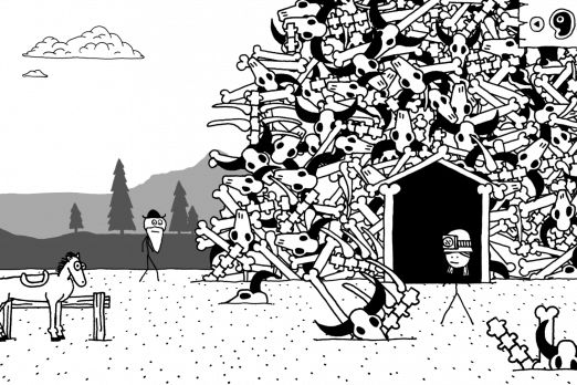 West Of Loathing Stick Figure Comedy RPG Hits Steam On Aug. 10