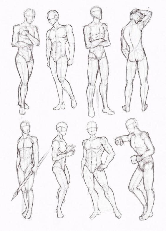 anatomi-model-karakalem-çizimleri-44