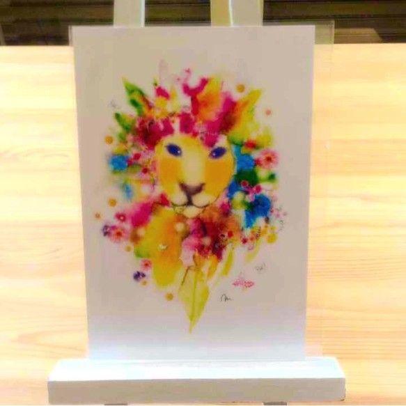 水彩イラストです♡ポストカードサイズ 裏は無地高級マット紙を使用同柄2枚入り|ハンドメイド、手作り、手仕事品の通販・販売・購入ならCreema。