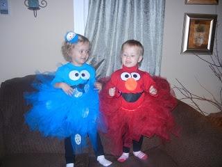Sesame Street - Elmo & Cookie Monster Halloween Costumes