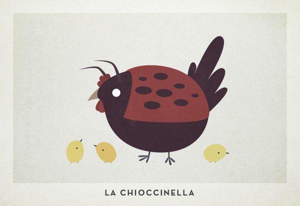 Chimere Semantiche 4 by Alessio Sabbadini, via Behance