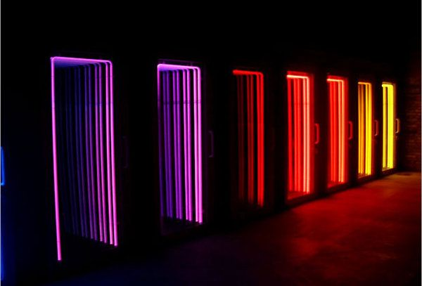TheCoolist's obsession with light-borne art continues, this time with the industrial-inspired light sculptures of Iván Navarro. This Chilean artist has created a series of sculptures using fluorescent lights, mirrors and little else. His human forms are amongst our favorites, but the reflective works have an infinite character to them, where [...]