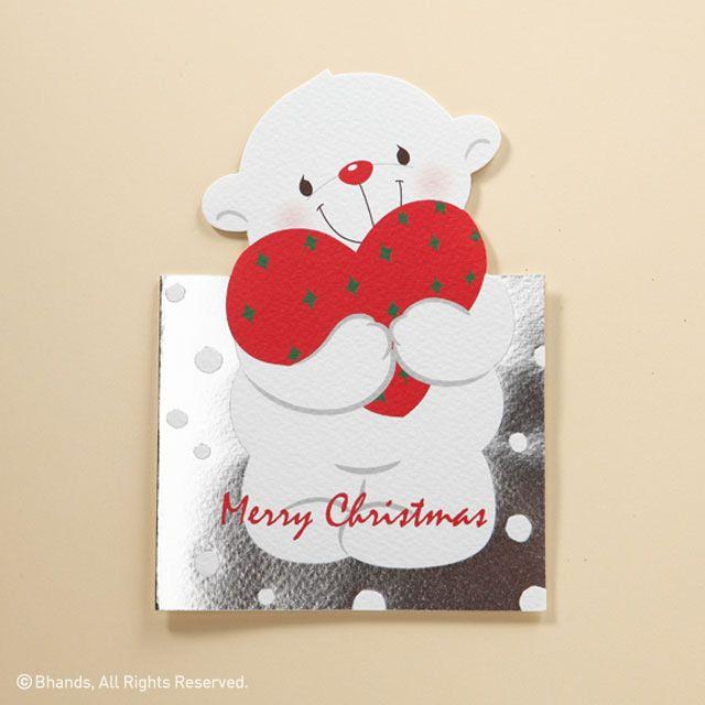 바른손그리팅스의 막내 산타 무스 베어입니다. 메리크리스마스! Merry Christmas! #크리스마스 #성탄절 #산타 #바른손그리팅스 #카드 #곰 #Merry #Christmas #Xmas #santa #bear #Barunsongreetings #card
