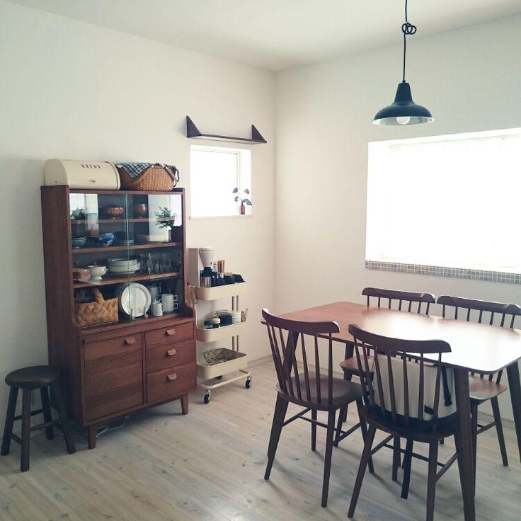 照明/モザイクタイル/unico食器棚/IKEA/リノベーション/ノーチェ…などのインテリア実例 - 2015-04-02 11:29:55 | RoomClip(ルームクリップ)