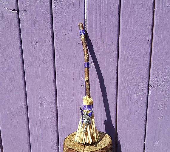 Faery Witch Broom Miniature Broomstick Witch Home Decor