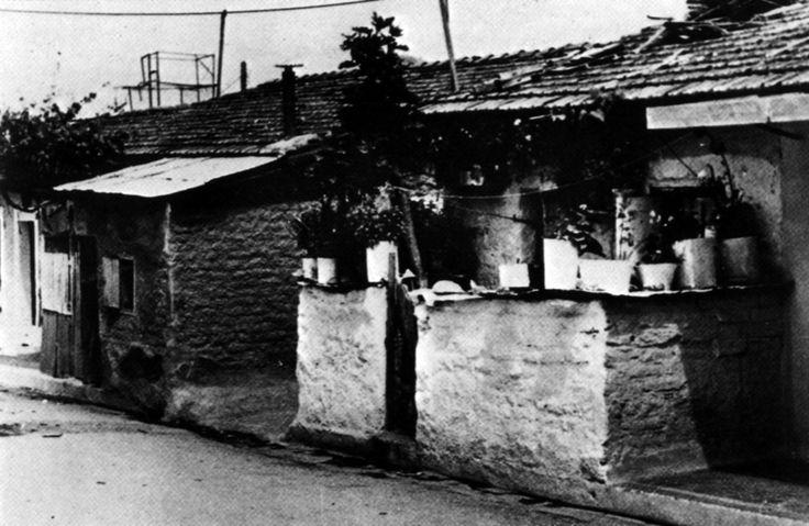 Καισαριανή 1950-51. Φωτο: Παπαδημητρίου Έλλη, Γαλάτη Ασπασία και Γιώργος Μανουσάκης.  Οι φωτογραφίες είναι από το βιβλίο «Προσφυγική Ελλάδα»(«Refugee Greece»), Εκδόσεις INTERED-ΚΑΠΟΝ ©Κέντρο Μικρασιατικών Σπουδών, 1992 Πηγή: www.lifo.gr