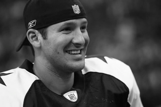 You can't rely on him to throw a decent pass, but Romo is very easy on the eyes!