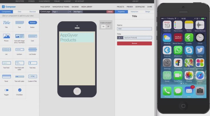 AppGyver Launches Composer, A Drag-And-Drop Tool For Building HTML5 Apps