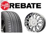 Buy 4x Tires and/or Wheels + Double Your Rebate: 4x Yokohama Tires from $132 (after rebates w/ Discount Tire Direct Credit Card) + Free Shipping