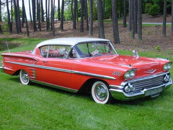 1958 Chevrolet Impala...Re-Pin Brought to you by agents at #HouseofInsurance in #EugeneOregon for #LowCostInsurance.