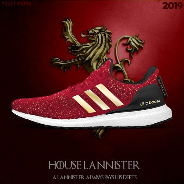 adidas Ultra Boost Lannister Also To Be A Part Of adidas x