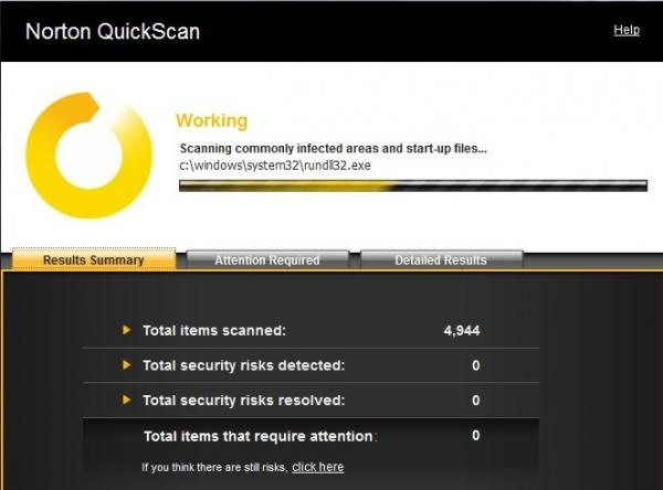 Scan your system using Anivirus