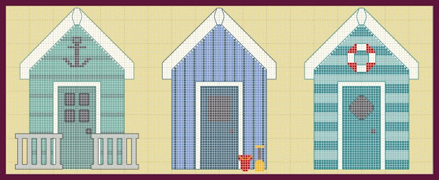 New! Three beach houses free grids. Lovely indeed, thanks so xox