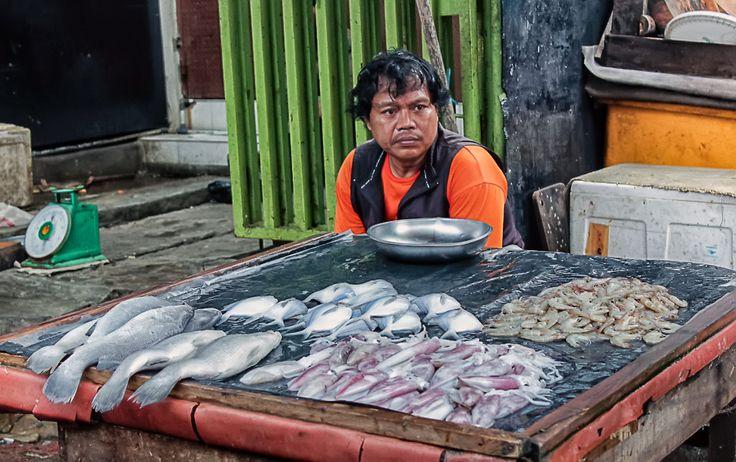 Fish Seller..Jakarta Kota