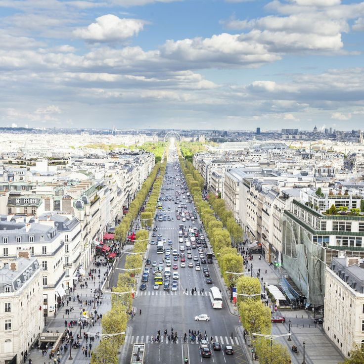 Champs-Elysees Paris, France sky aerial photography transport outdoor cityscape photography City urban area bird's eye view human settlement residential area River stadium waterway panorama skyline