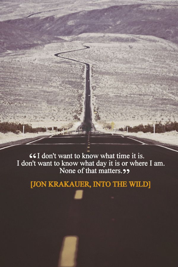 """I don't want to know what time it is…"" Jon Krakauer motivational…"