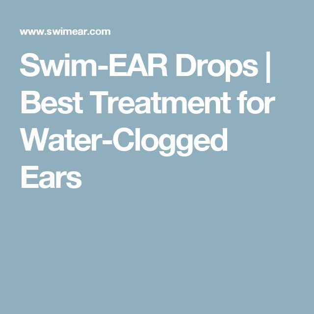 Swim-EAR Drops | Best Treatment for Water-Clogged Ears