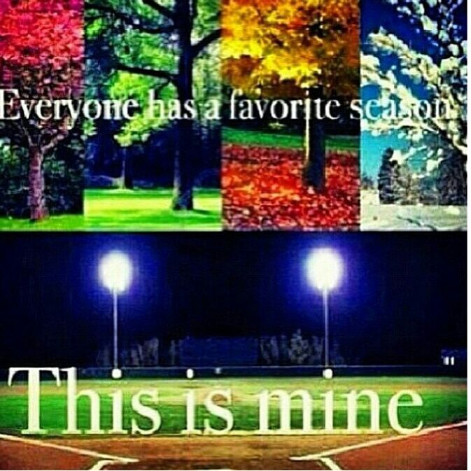 loveyourcoach:    dreamwanderexplore:    I don't know what I'd do without softball.  This sport is my life    Mine too