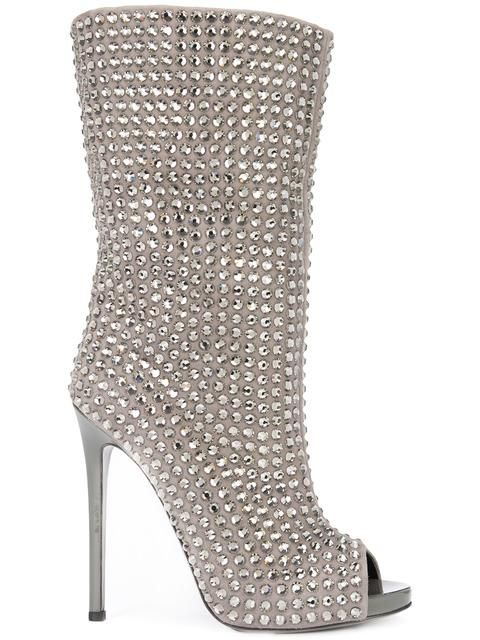 Shop Philipp Plein Bahamas booties.