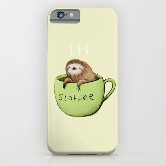 sloth iphone case sloffee iphone sloths i want sloths and cases 12989